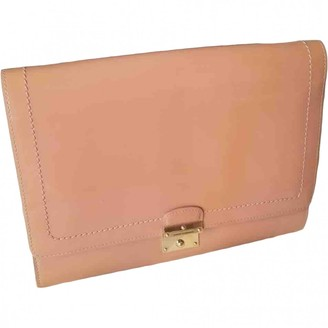 Marc Jacobs Single Pink Patent leather Clutch bags