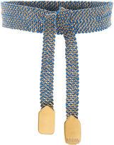 Assya Blue Gold Vermeil Wrap Bracelet