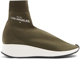 Joshua Sanders LA high-top sock trainers