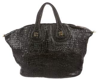 Givenchy Textured Leather Nightingale Tote