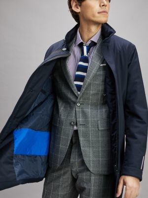 Tommy Hilfiger Stand-Up Collar Coat