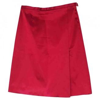 Moschino Cheap & Chic Moschino Cheap And Chic Red Skirt for Women