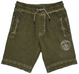 Diesel Faded Cotton Sweat Shorts