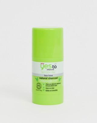 Yes To Detox Charcoal Natural Deodorant: Charcoal & Tea Tree