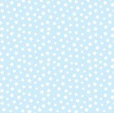 Camilla And Marc SheetWorld Fitted Bassinet Sheet - Stars Pastel Blue Woven - Made In USA - 15 inches x 32 1/2 inches (38.1 cm x 82.6 cm)