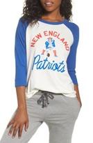 Junk Food Clothing Women's Nfl New England Patriots Raglan Tee