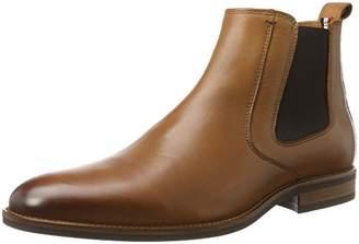 Tommy Hilfiger Essential Leather, Men's Chelsea Boots, Black (Winter Cognac), (45 EU)
