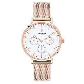 Pierre Lannier Womens Analogue Quartz Watch with Solid Stainless Steel Strap 002G908