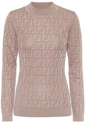 Fendi Cotton-blend sweater