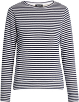 A.P.C. Long-sleeved striped cotton top