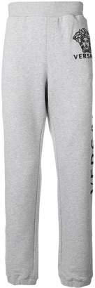 Versace slim fit jogging trousers