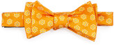 Ted Baker Daisy-Print Silk Bow Tie, Orange