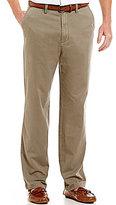 Nautica Classic Deck Flat-Front Pants