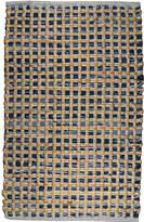 Park B SmithTM Cotton and Jute Checkered Rectangular Rug