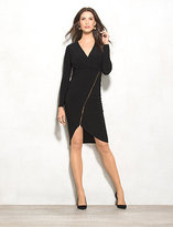 dressbarn BEYOND by Ashley Graham Asymmetrical Zip Dress