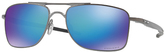Oakley OO4124-0657 Gauge 8 M Prizm Polarized Rectangle Sunglasses