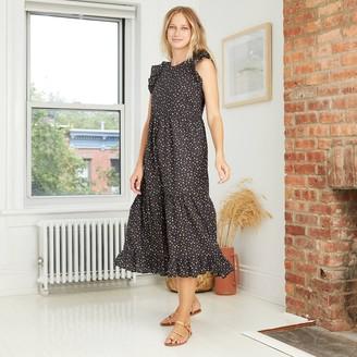 Universal Thread Women's Ruffle Sleeveless Tiered Dress - Universal ThreadTM