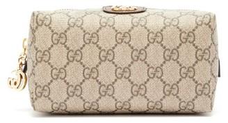 Gucci Ophidia Gg Supreme Wash Bag - Womens - Grey Multi