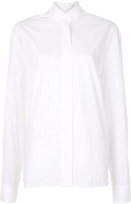 Alexandre Vauthier Plain Long-Sleeved Shirt