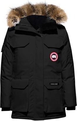 Canada Goose Expedition Fusion-Fit Coyote Fur-Trim Parka