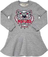 Kenzo Tiger Cotton Sweatshirt Dress