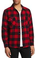 Frame Shirt Jacket in Red Buffalo Plaid