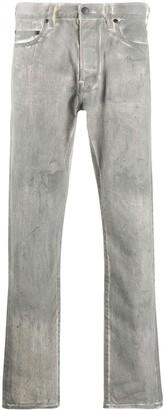 John Elliott Coated Denim Jeans