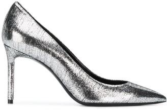Saint Laurent Metallic Stiletto Pumps