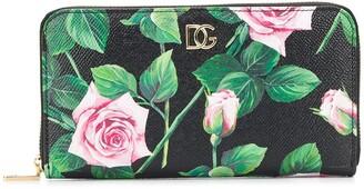 Dolce & Gabbana Roses Wallet