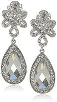 Freida Rothman Love Knot Teardrop Earrings