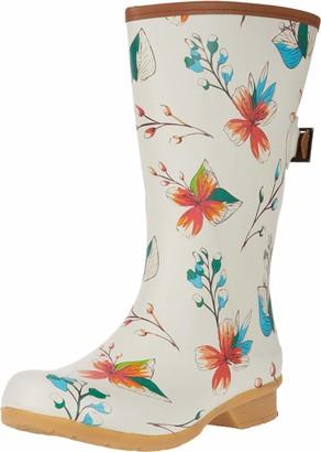 Chooka womens Tropics Bainbridge Adjustable Mid Boot Rain Shoe