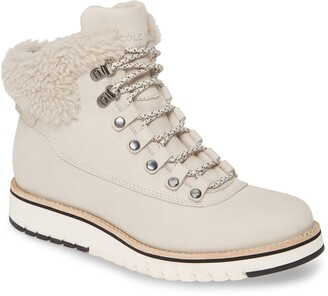 Cole Haan GrandExplre Genuine Shearling Trim Waterproof Hiker Boot