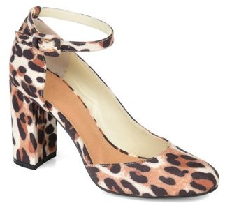 Brinley Co. Womens Ankle-strap D'Orsay Pumps