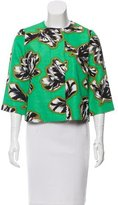 Jonathan Saunders Printed Structured Jacket