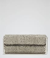 Reiss Souxie BEADED CLUTCH