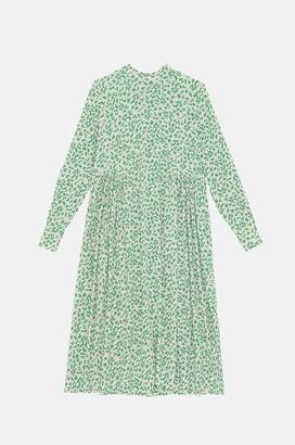 Ganni Midi Dress Tapioca - 34
