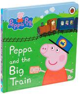 NEW Book Peppa & The Big Train