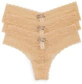 Cosabella Women's Trenta 3-Pack Lace Thongs