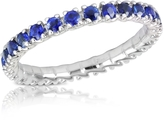 Forzieri Blue Sapphires 18K Gold Eternity Band
