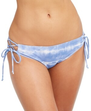 Sundazed Kylie Strappy Bikini Bottom, Created for Macy's Women's Swimsuit