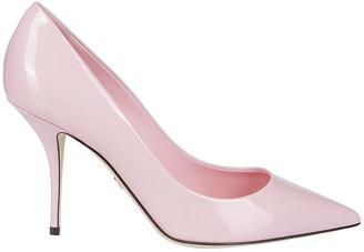 Dolce & Gabbana Light Pink Leather Pumps