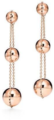 Tiffany & Co. City HardWear triple drop earrings in 18k rose gold