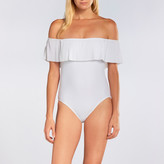 Karla Colletto Josephine Off-The-Shoulder Maillot