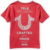 True Religion Little Boys 2T-7 Short-Sleeve Logo Tee
