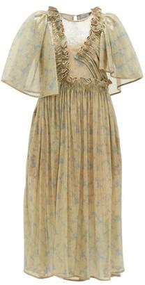 Preen by Thornton Bregazzi Parmena Ruffled Sequinned-tulle Dress - Cream Multi