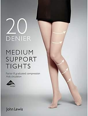 2dbf06f86 John Lewis   Partners 20 Denier Medium Support Tights