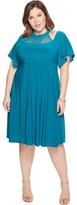 Kiyonna Elise Flutter Dress Women's Dress