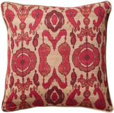 OKA Koyari Cushion Cover Vermillion Red