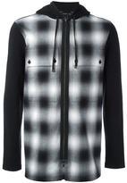 Helmut Lang 'Combo' zipped hoodie - men - Cotton - M