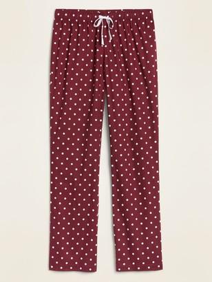 Old Navy Printed Poplin Pajama Pants for Women